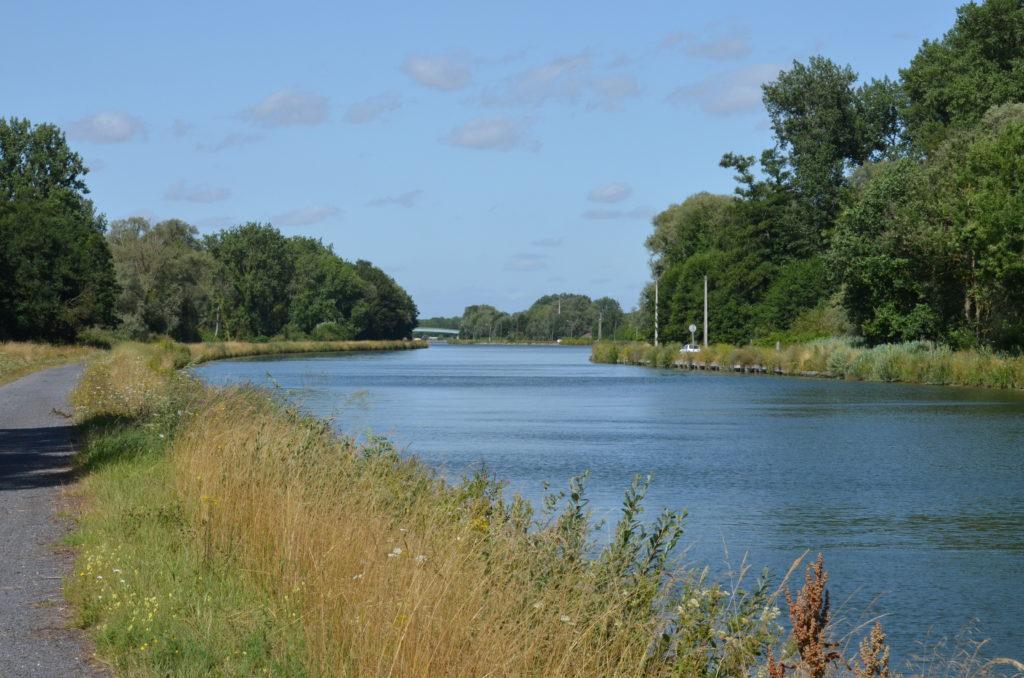 Canal de la Sensée - Paillencourt - aval du pont